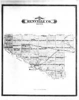 Renville County Outline Map, Renville County 1888